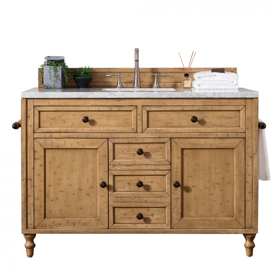 48 Inch Distressed Single Sink Bath Vanity Custom Options