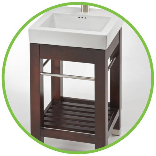 pedestal bathroom vanity