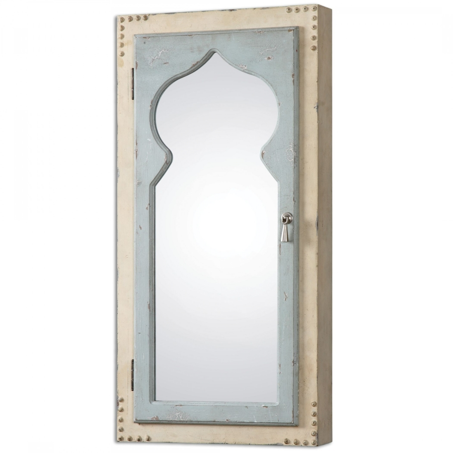 Nador jewelry cabinet mirror uvu07205 for Mirror jewelry cabinet