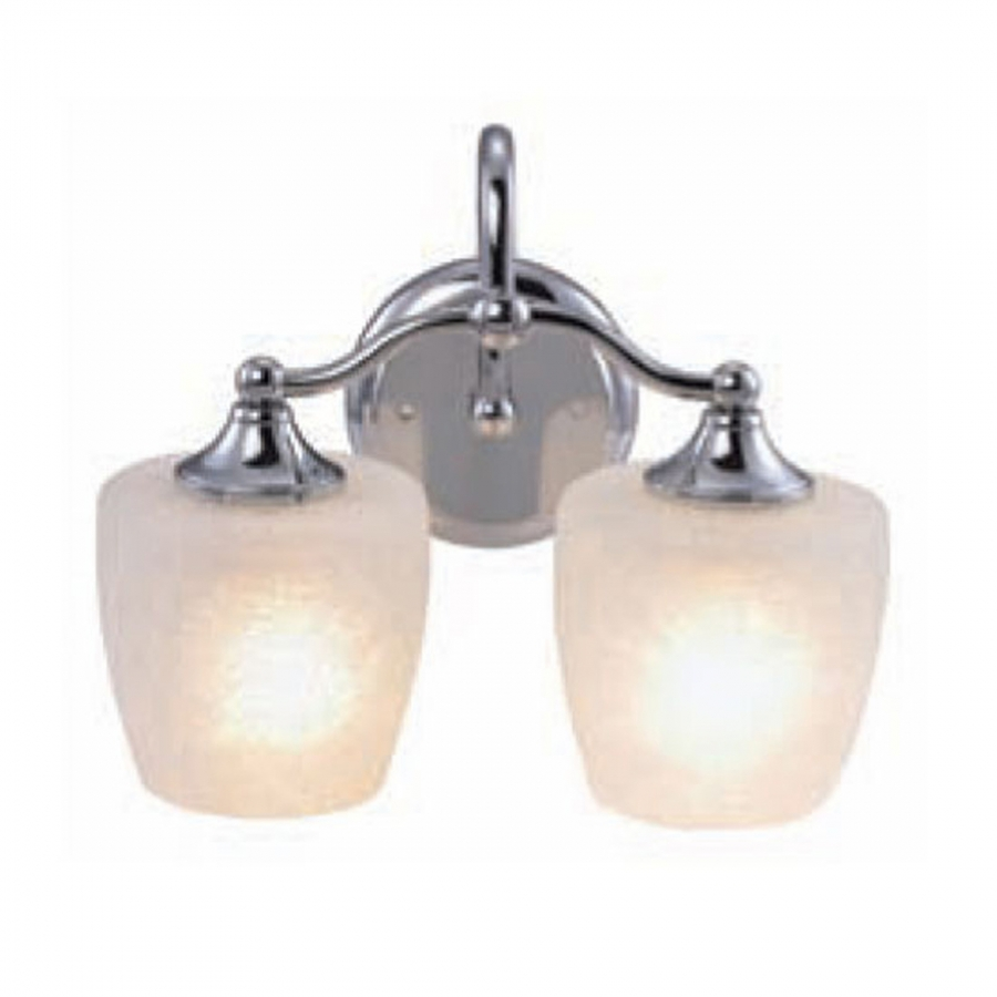 2 light vanity lighting in chrome uvyhd1031 2ch