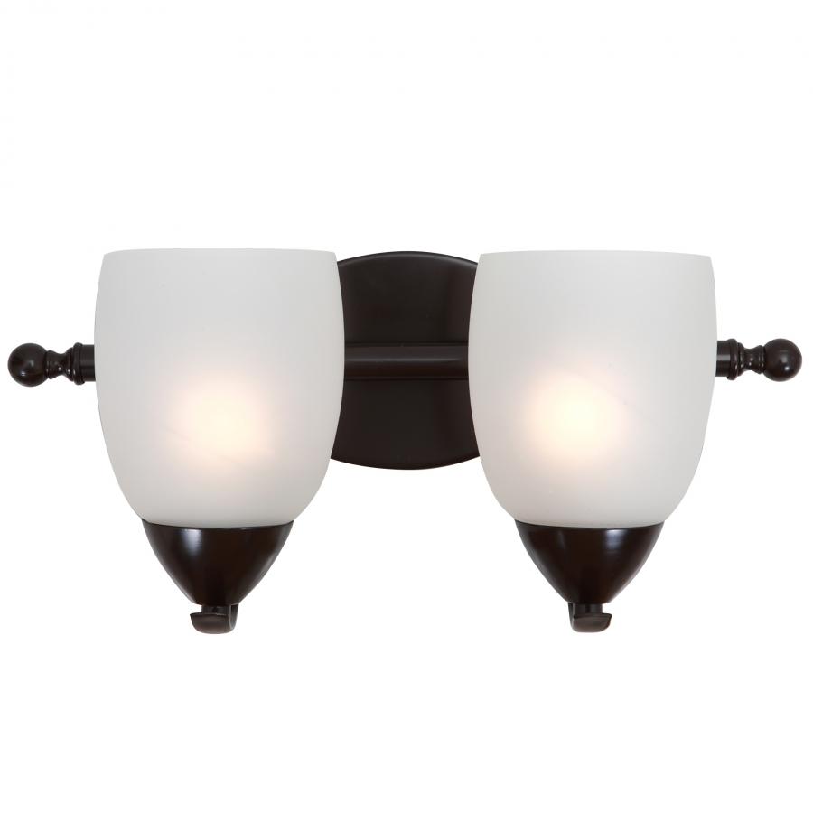 2 Light Vanity Lighting In Oil Rubbed Bronze Uvyhd1261 2v Orb