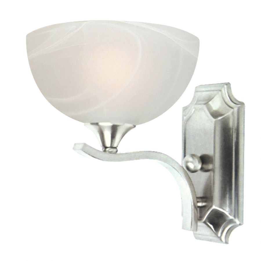 1 light vanity lighting in satin nickel uvyhd1371sn
