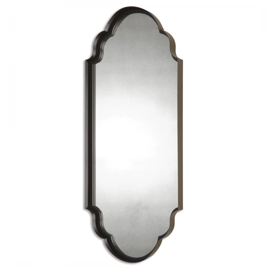 lamia curved metal unique mirror uvu13933