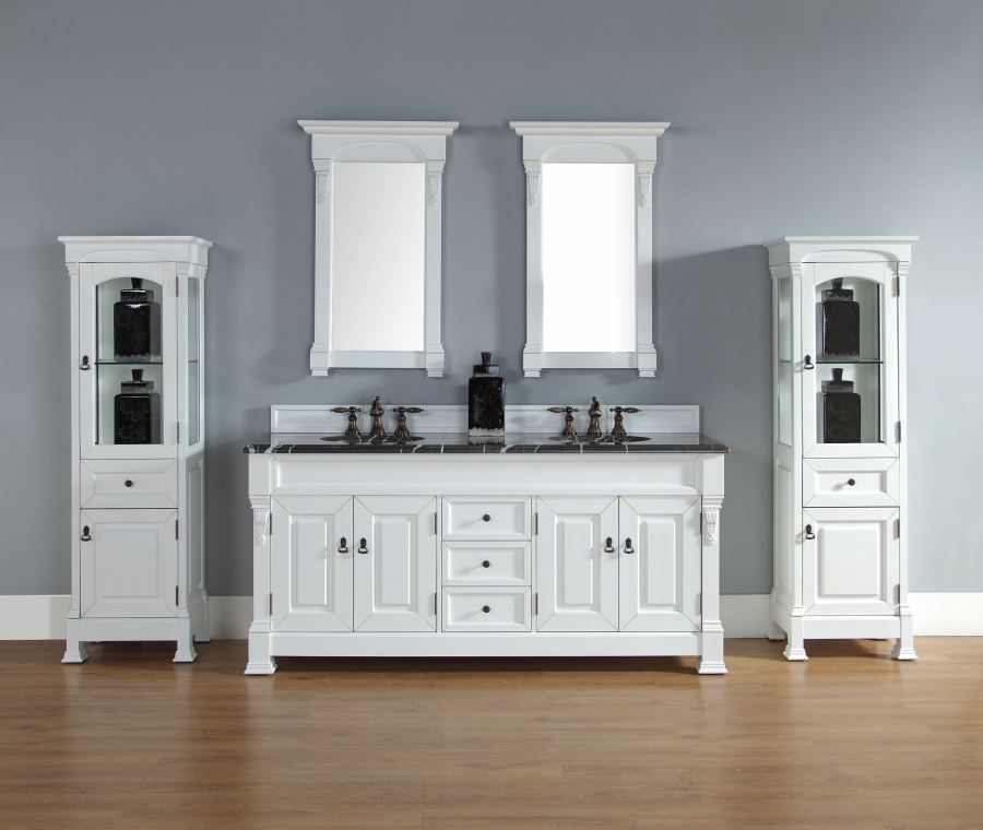 72 Inch Double Sink Bathroom Vanity Custom Options