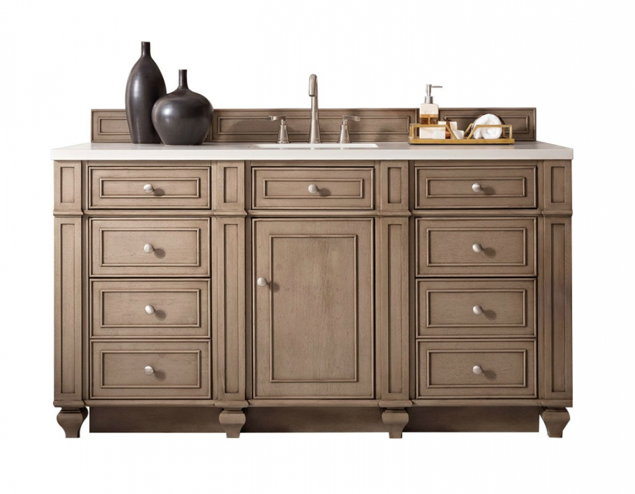 60 Inch Single Sink Bathroom Vanity In