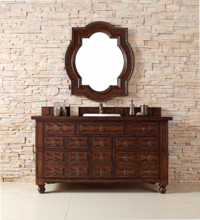 60 Inch Single Sink Bathroom Vanity With Seven Drawers Uvjmf160v60sacg60