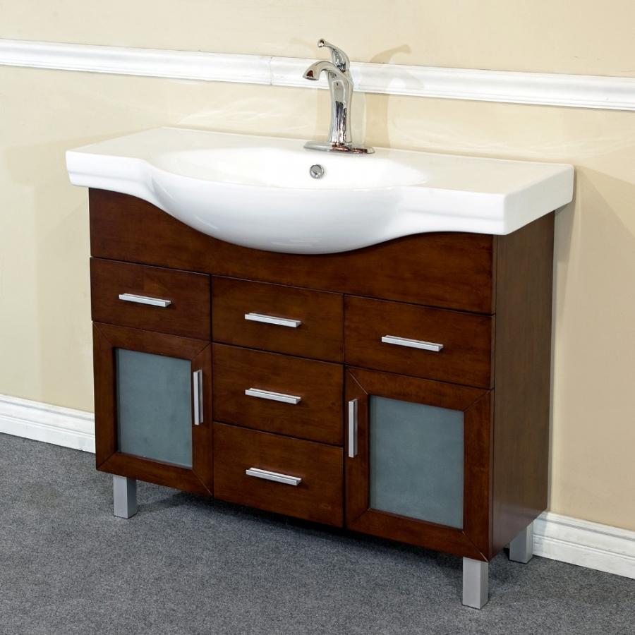 39 8 inch single sink bathroom vanity with soft close hinges uvbh203139b40