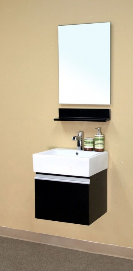 21 Inch Single Sink Bathroom Vanity In Dark Espresso
