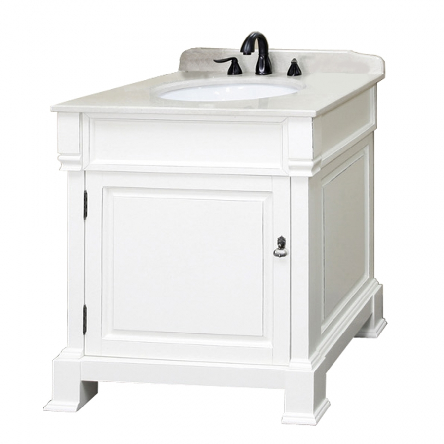 30 inch single sink bathroom vanity in white uvbh205030wh30 for Bathroom 30 inch vanity