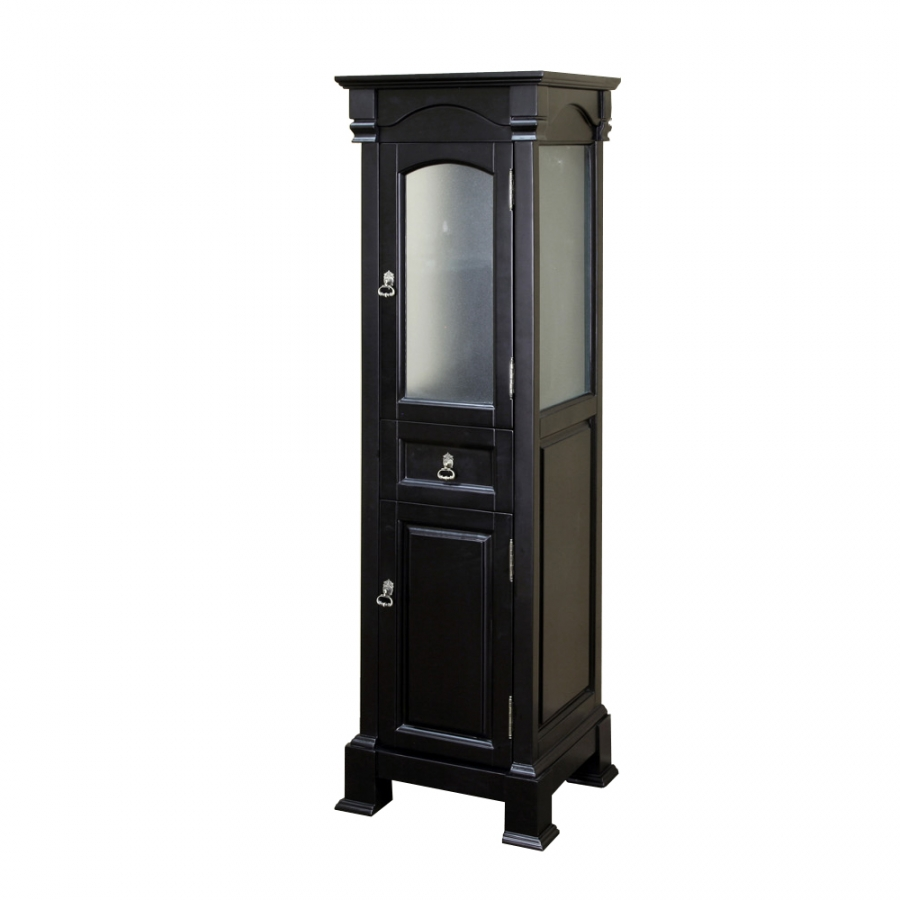 bathroom linen cabinet in espresso finish uvbh205065toweres. Black Bedroom Furniture Sets. Home Design Ideas