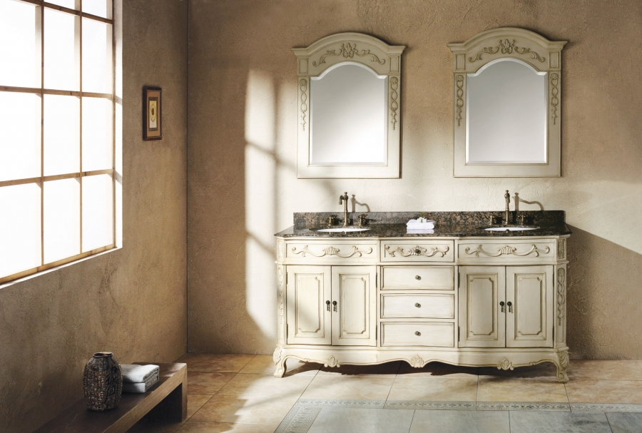72 Inch Double Sink Bathroom Vanity With Plenty Of Storage
