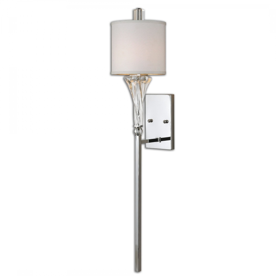 Grancona 1 Light Polished Chrome Wall Sconce Uvu22495