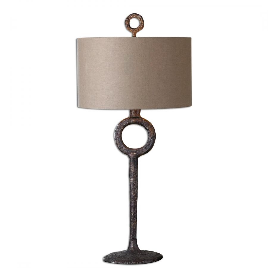 Iron Table Lamps : Ferro cast iron table lamp uvu