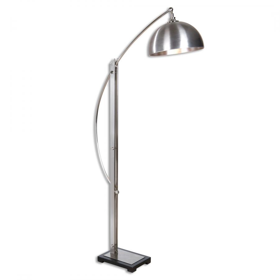 malcolm brushed nickel floor lamp uvu28634