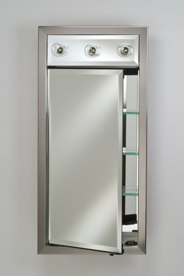 Signature Collection Custom Framed Single Door Medicine Cabinet With Contempo