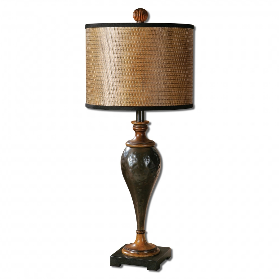 Javini Oil Rubbed Bronze Metal Table Lamp UVU29547
