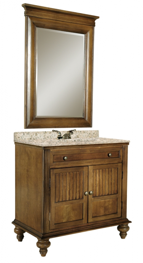 36 Inch Single Sink Bathroom Vanity With Choice Of Top UVKI320360036