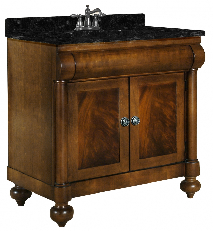 30 Inch Single Sink Bathroom Vanity with Choice of Top UVKI348300030