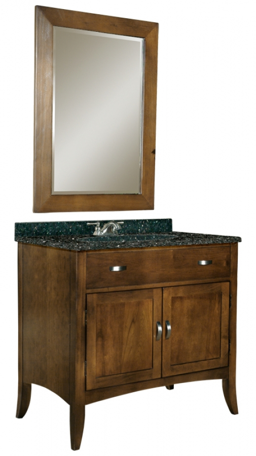 30 Inch Single Sink Bathroom Vanity With Choice Of Top Uvki385300030
