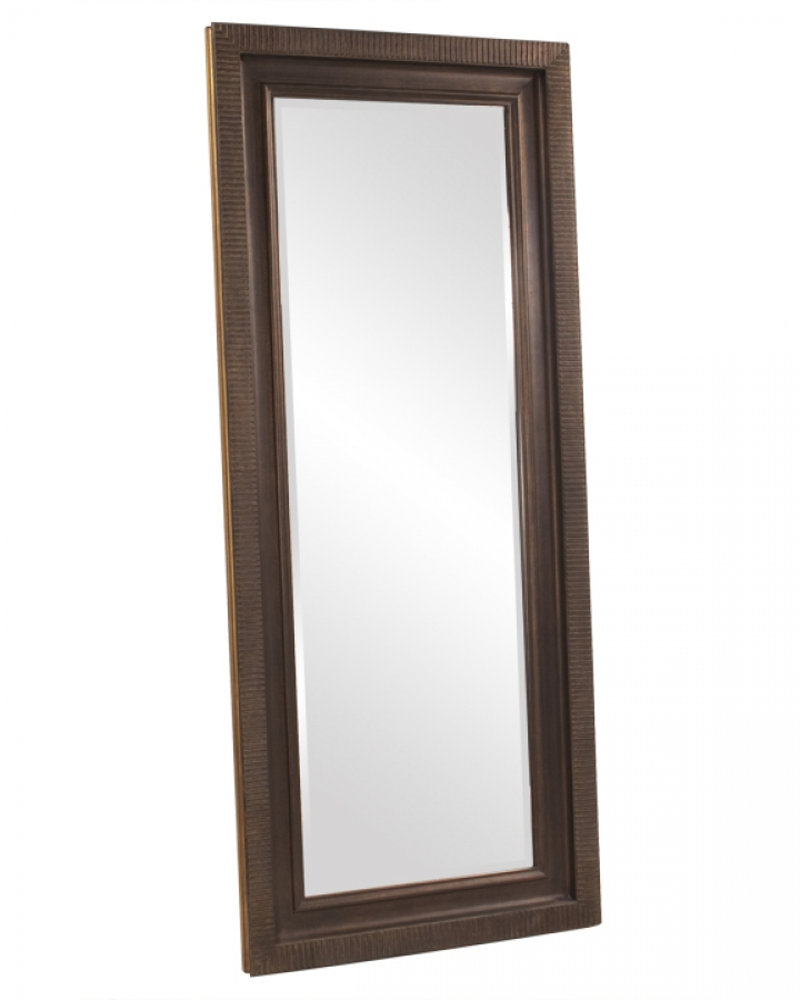 Dana Rectangular Deep Bronze with Copper Highlights Mirror UVHE43101