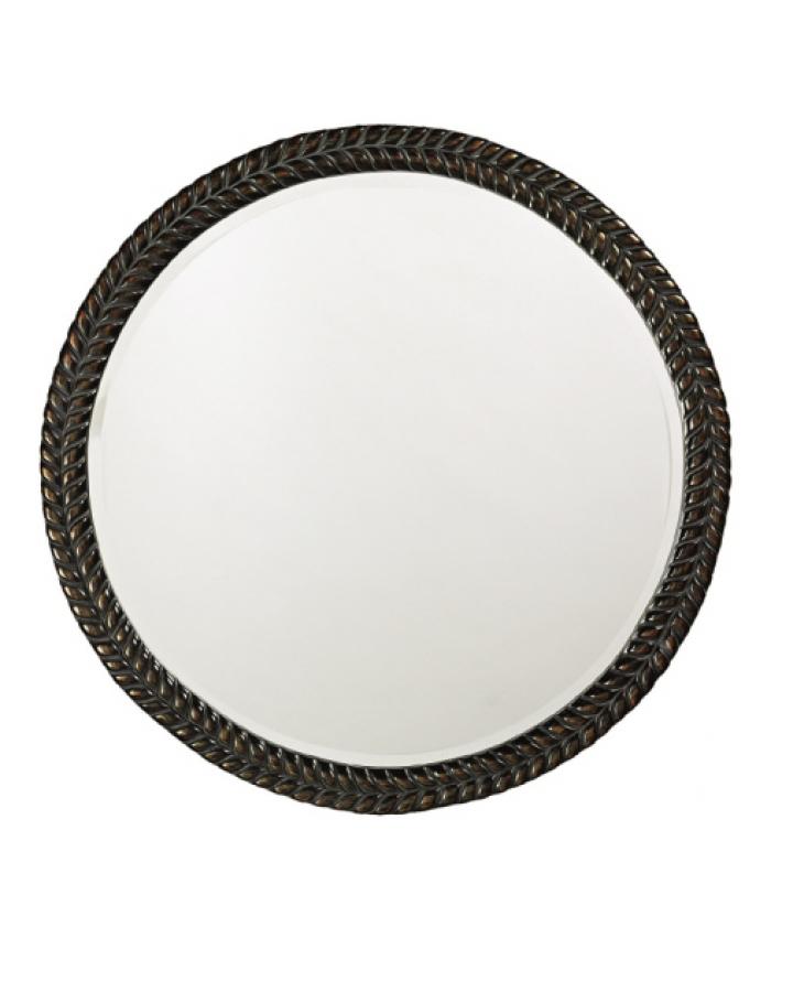 Amelia Decorative Antique Black Mirror With Bronze Hightlights UVHE5128