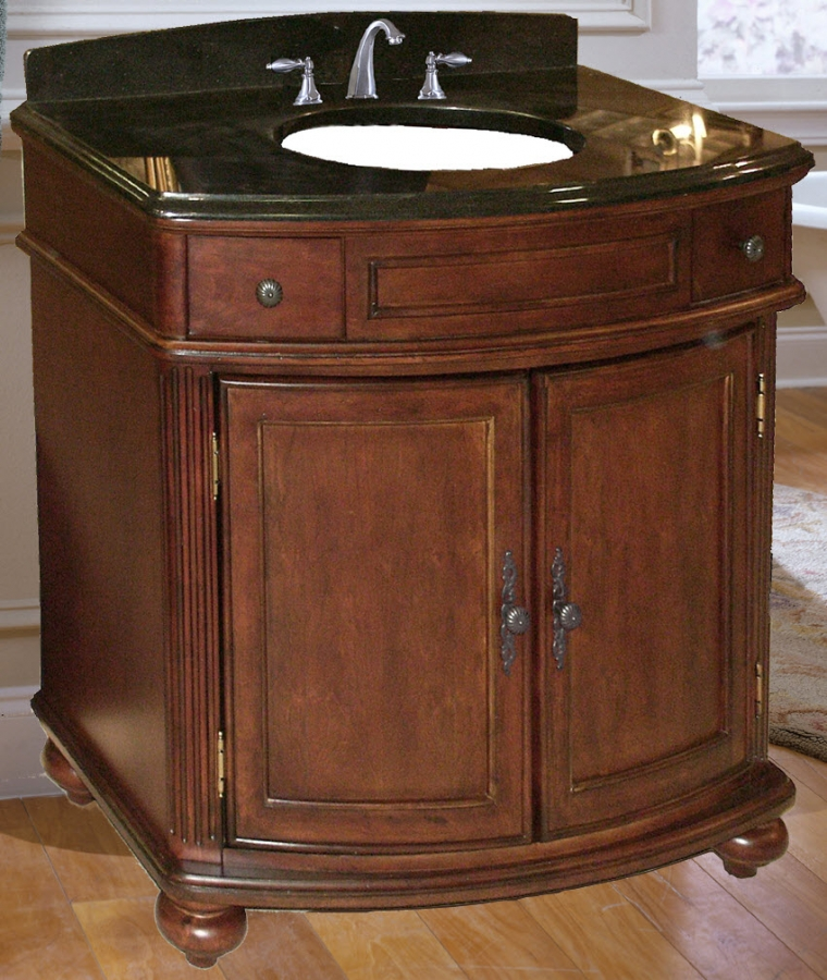 37 inch single sink bathroom vanity with choice of top uvki53003600100537