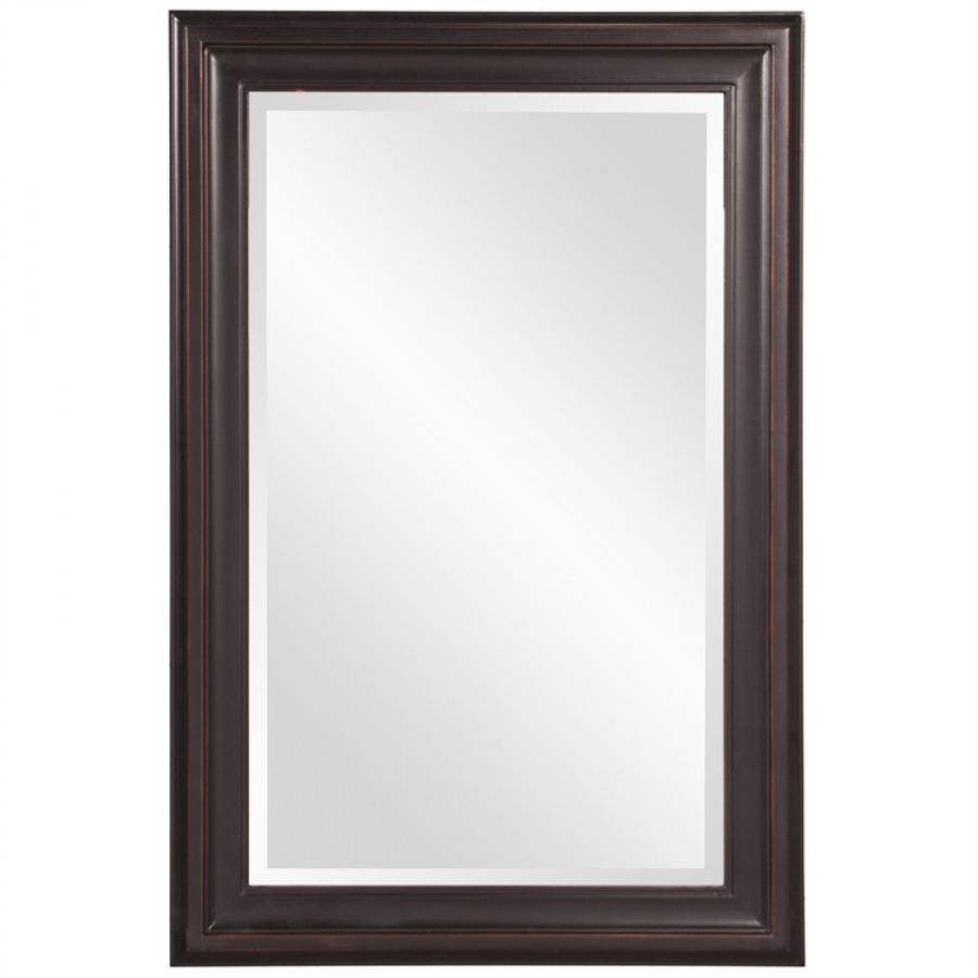 George Oil Rubbed Bronze Rectangular Mirror UVHE