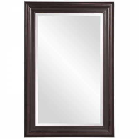 George Oil Rubbed Bronze Rectangular Mirror Uvhe53047