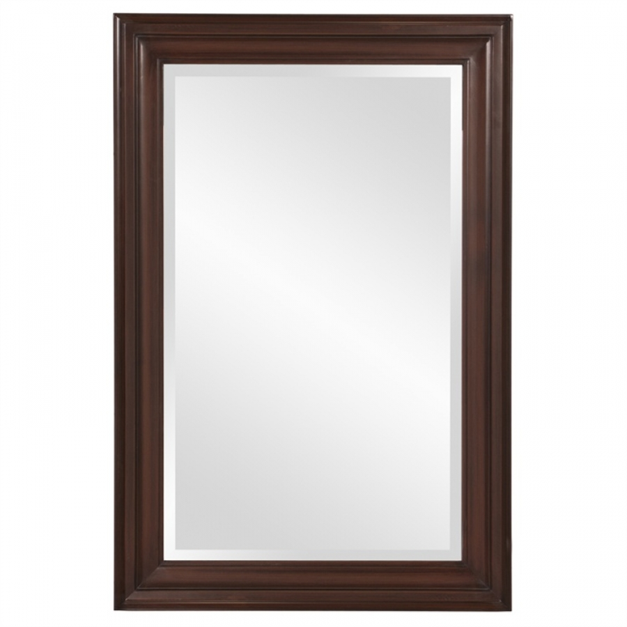 George rectangular wenge brown mirror uvhe53049 for Mirror mirror songsterr
