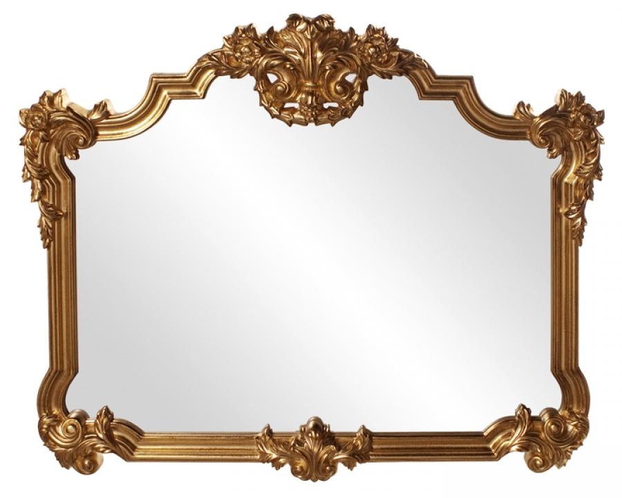 Completely new Avondale Unique Antique Gold Leaf Mirror UVHE56006 HR47