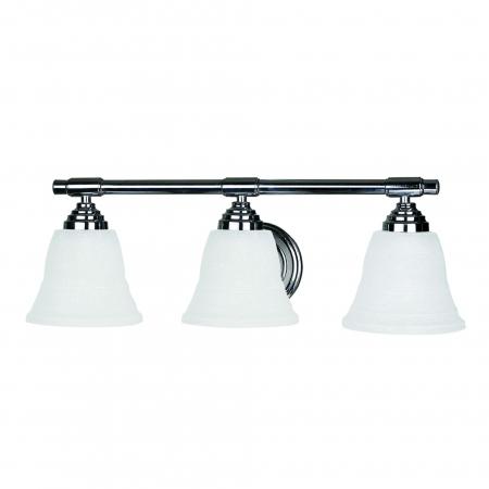 Vanity Light Dimensions : 3 Light Vanity Lighting in Chrome UVYHD5923CH