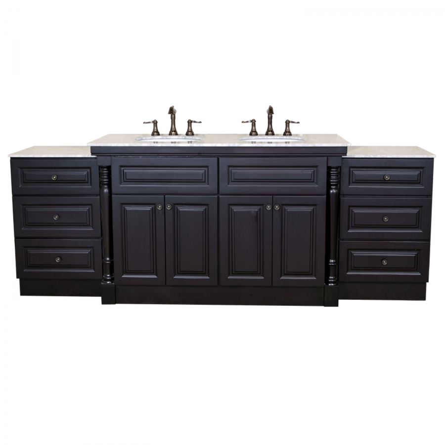 93 Inch Double Bath Vanity With Extra Storage UVBH605522C93