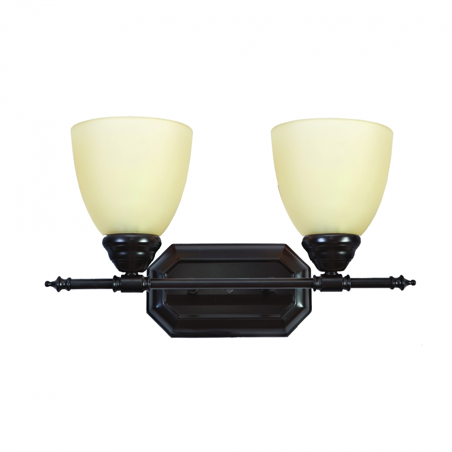 2 Light Vanity Lighting in Oil Rubbed Bronze UVYHD6432-2ORB