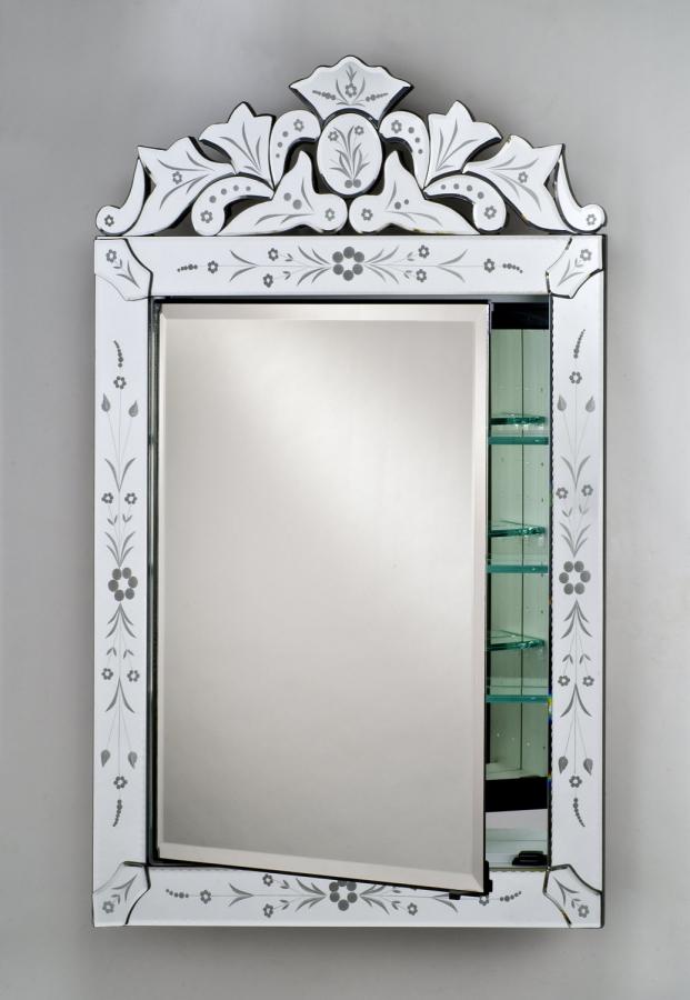 ornate medicine cabinet