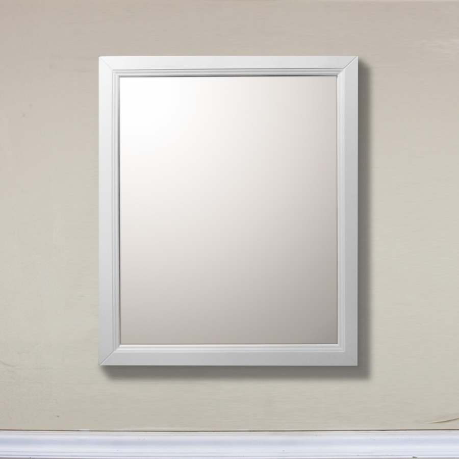 White rectangular vanity mirror uvbh7610mwh for White mirror