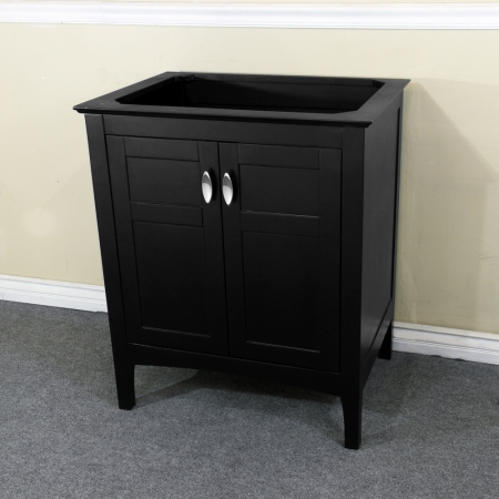 29 inch single sink bathroom vanity in espresso uvbh7613es29