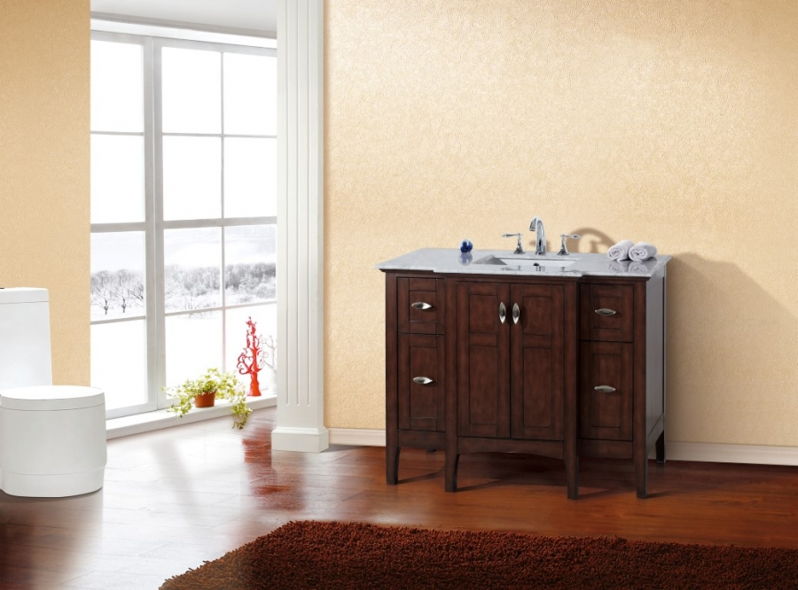 44 inch bathroom vanity