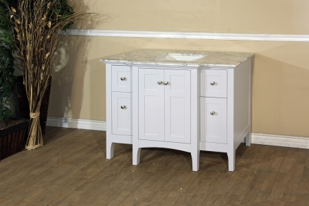 44 Inch Single Sink Bathroom Vanity With Dovetail Drawers
