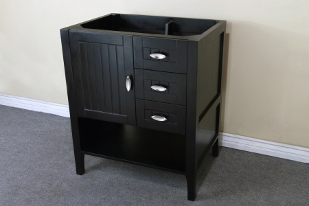 29 2 inch single sink bathroom vanity with choice of no