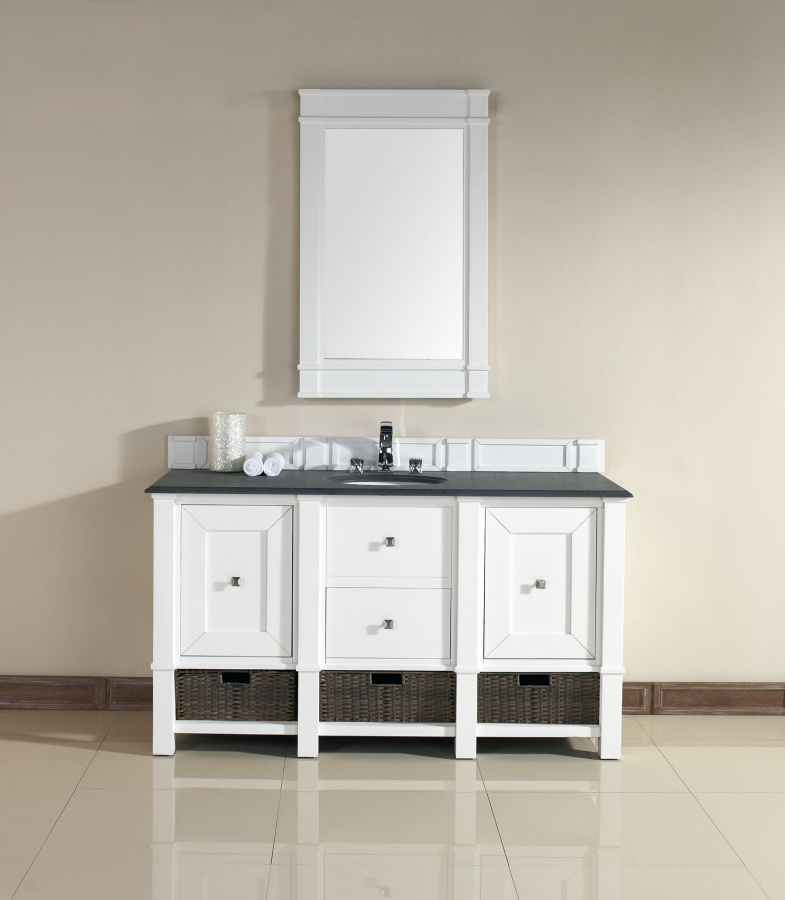 Original 60Inch Ohio Vanity Bathroom Vanity Sale  Single Sink Vanity
