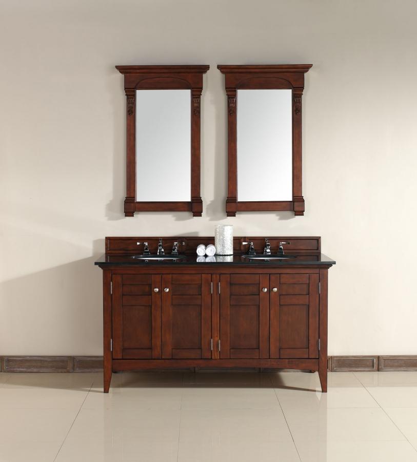 New Doors For Bathroom Vanity: 60 Inch Double Sink Bathroom Vanity With Four Doors