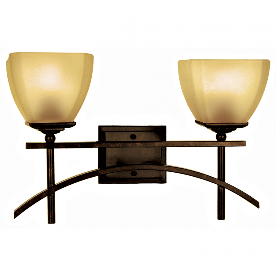 2 Light Vanity Lighting in Venetian Bronze UVYHD94672VB