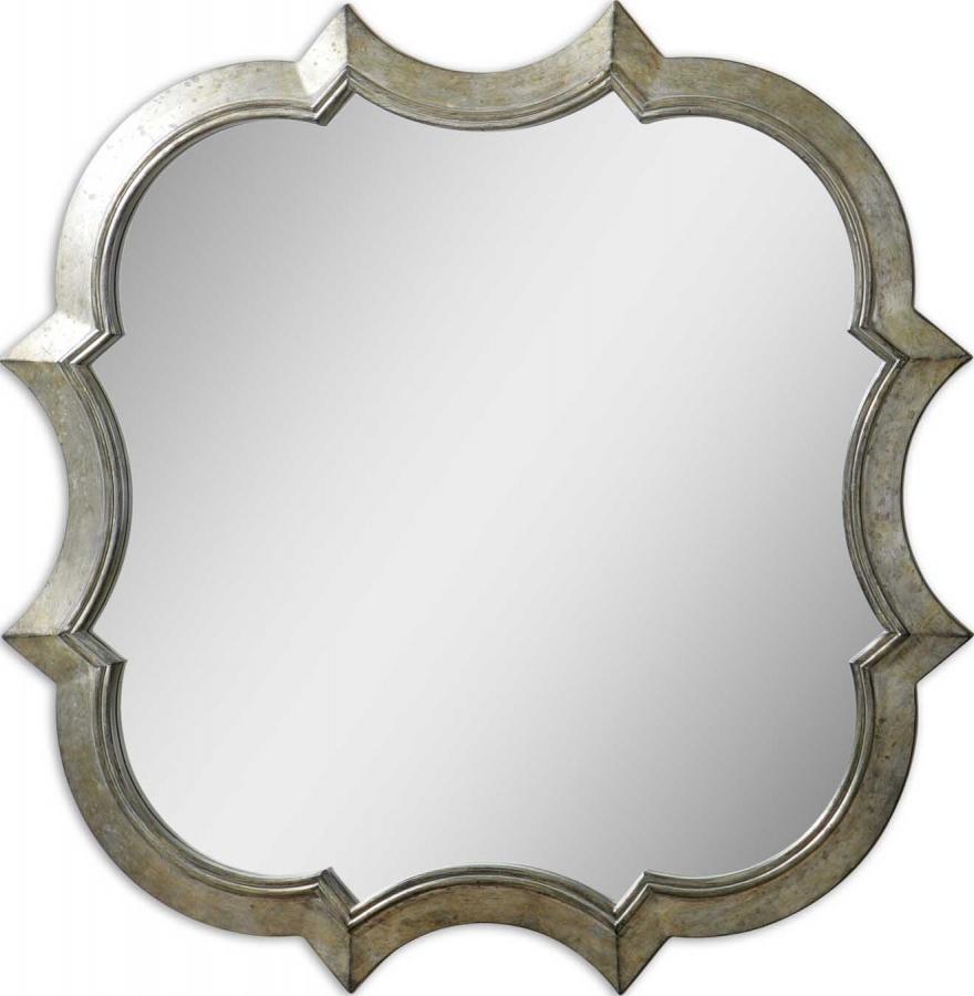 Farista Unique Antiqued Silver Mirror