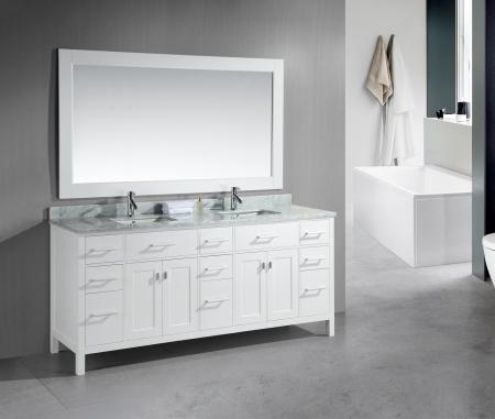 78 Inch Double Sink Bathroom Vanity