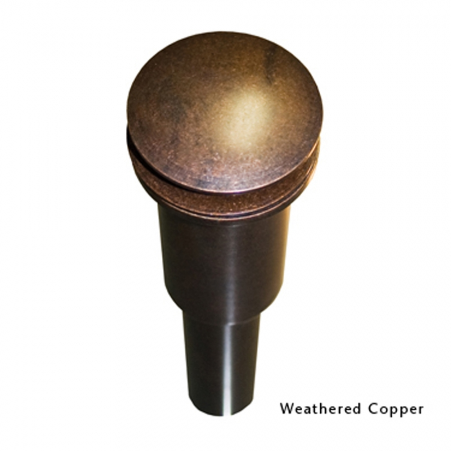 Weathered Copper 1 5 Inch Dome Drain UVNTDR120WC