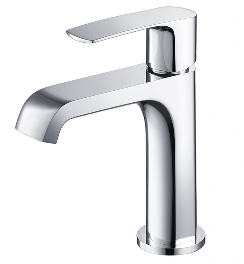 Single Hole Vanity Faucet : Chrome Single Hole Bathroom Vanity Faucet UVFFT3901CH