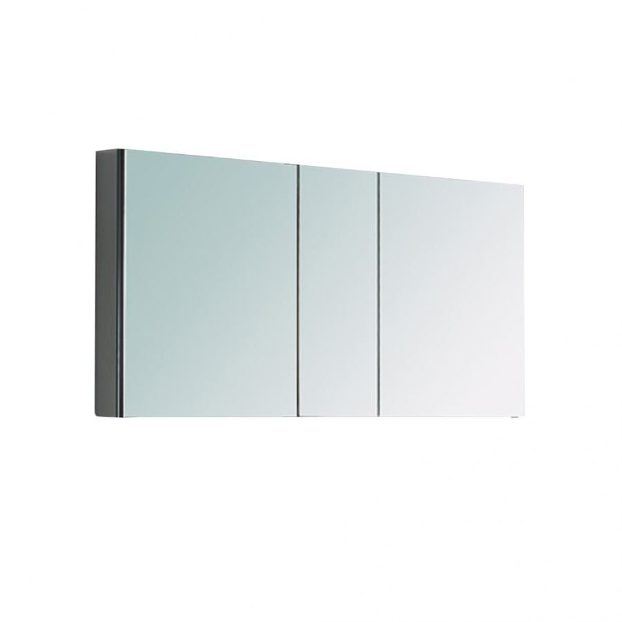 Three Mirrored Door Bathroom Medicine Cabinet 49 X 26 Inch
