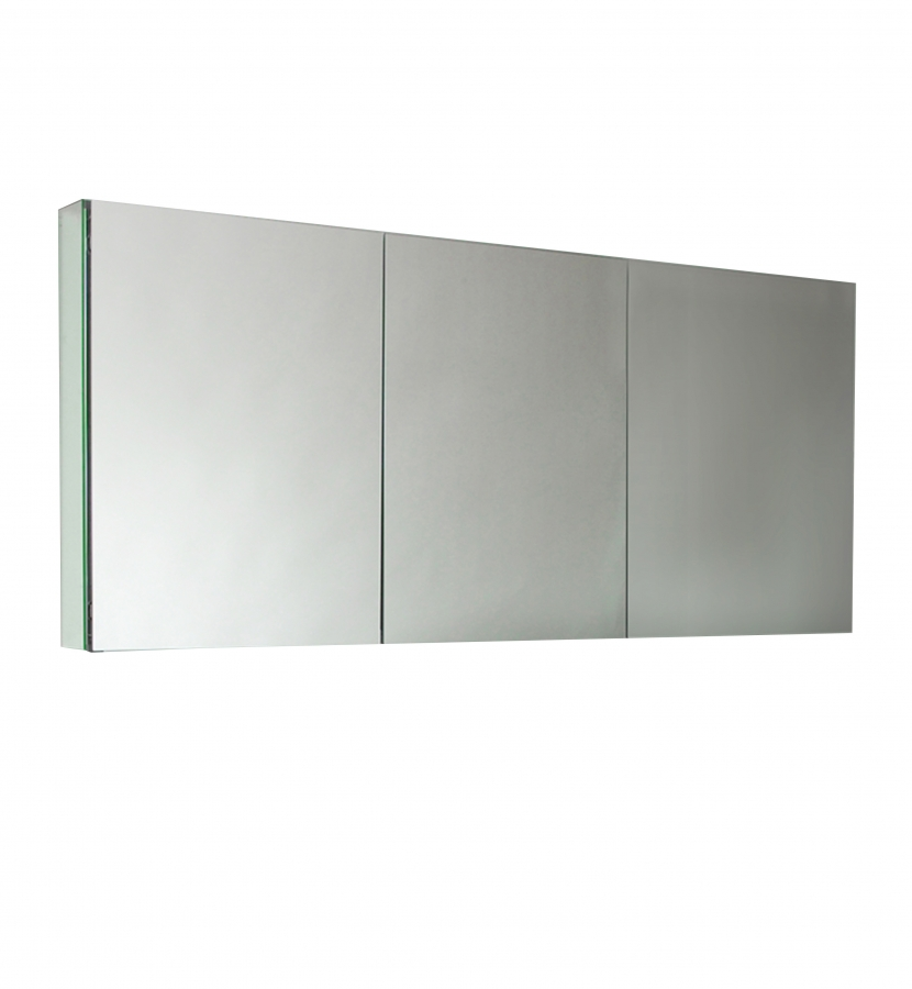 Three Mirrored Door Medicine Cabinet Uvfmc8019