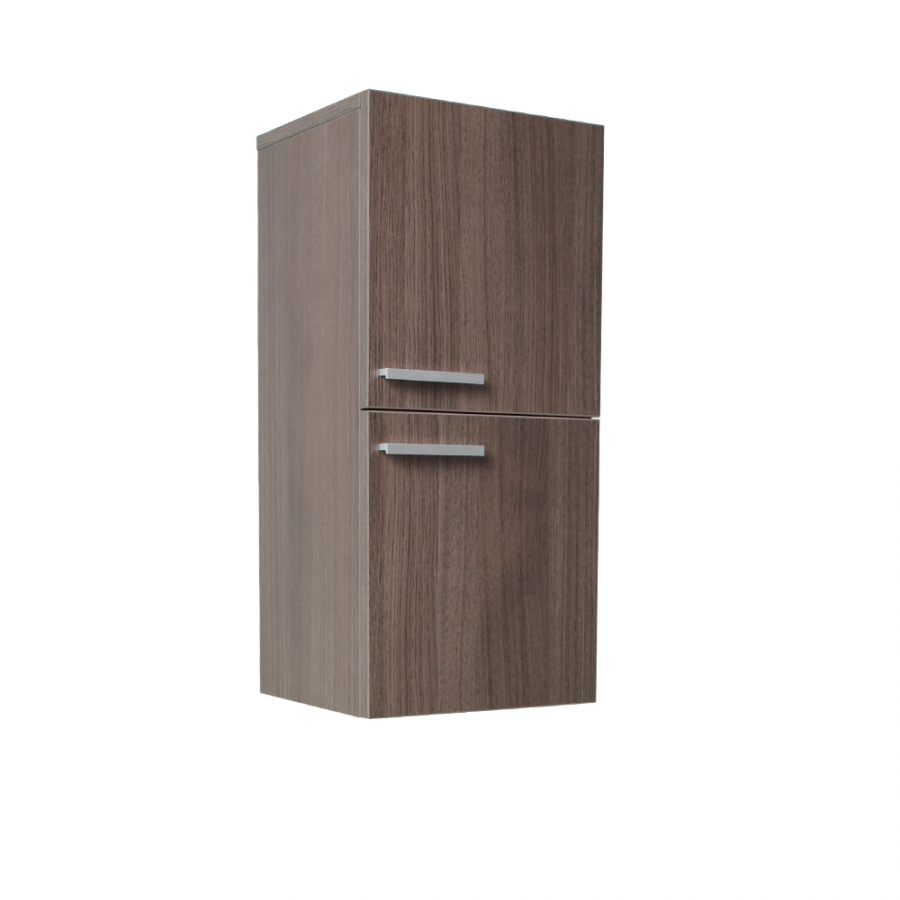 Gray oak bathroom linen side cabinet uvfst8091go for Oak linen cabinet for bathrooms