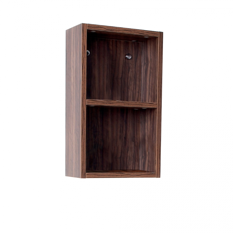 Walnut Bathroom Linen Side Cabinet UVFST8092GW